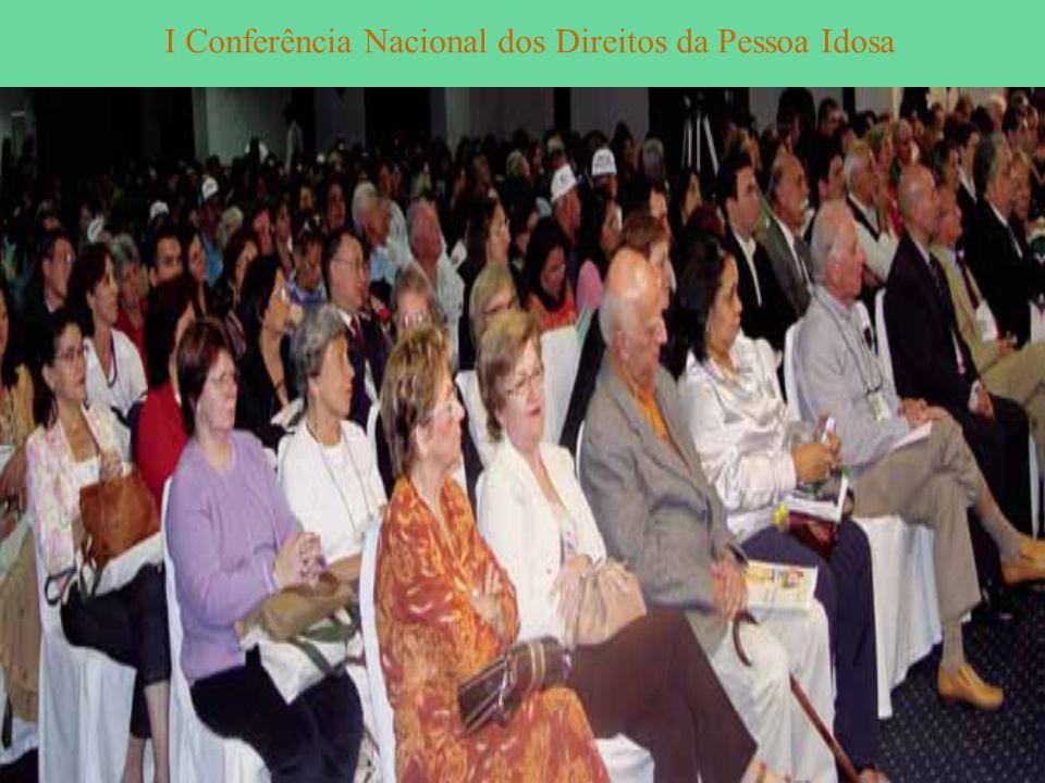 I Conferência Nacional dos Direitos da Pessoa Idosa