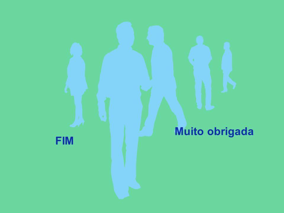FIM Muito obrigada