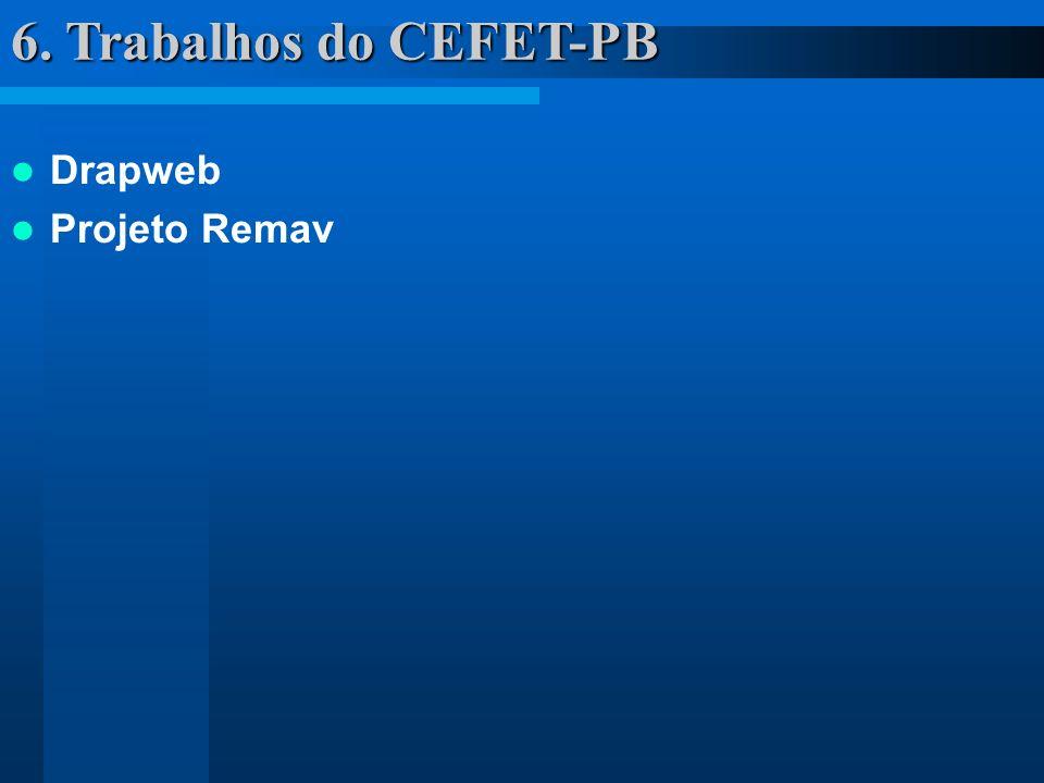 6. Trabalhos do CEFET-PB Drapweb Projeto Remav