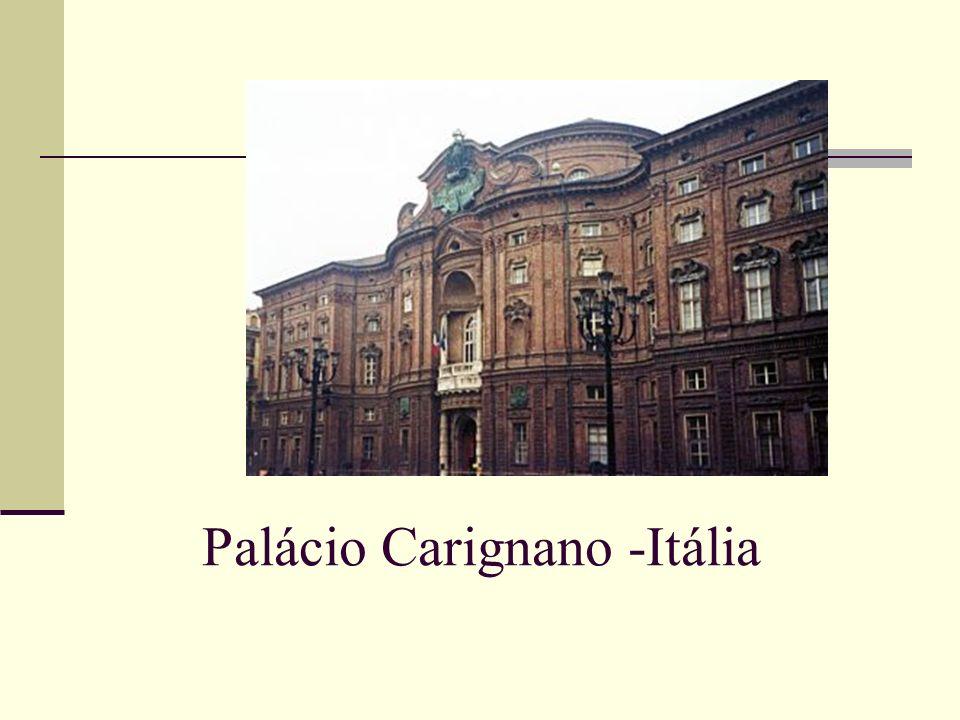 Palácio Carignano -Itália