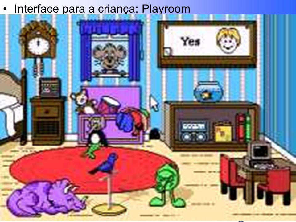 Lafayette B. Melo – CEFET-PB - COINFO Interface para a criança: Playroom