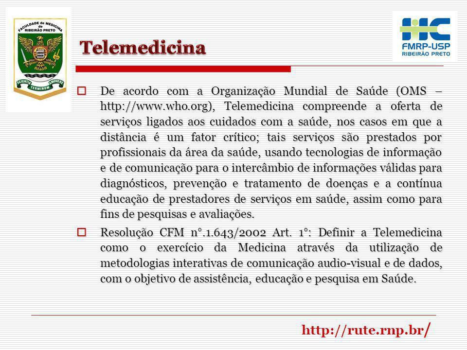 Telerradiologia se destaca como uma das especialidades da telemedicina e se define como a utilização das tecnologias de informação e meios de comunicação disponíveis com o objetivo de permitir o diagnóstico à distância (telediagnóstico) ou emitir uma segunda-opinião especializada (teleconsultoria), através da comunicação de imagens digitais.