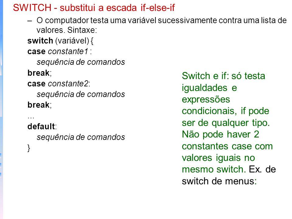 –Expressões Condicionais: em C o fato de não se utilizar nas condições do If apenas operadores lógicos ou de atribuiçao pode se resultar em ganho Divi
