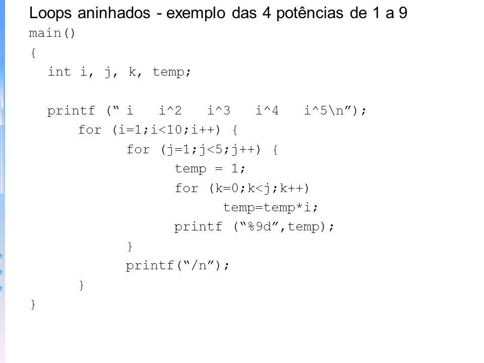 Programa - número mágico outra versão main() { int magico,adivinha, tentativas=0; randomize(); magico = random (100); do { printf(adivinhe: ); scanf (