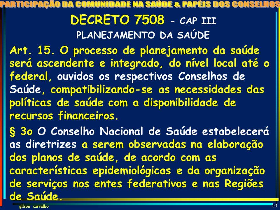 gilson carvalho 18 LEI 8080 ALTERADA PELA LEI 12466 – SOBRE A TRIPARTITE