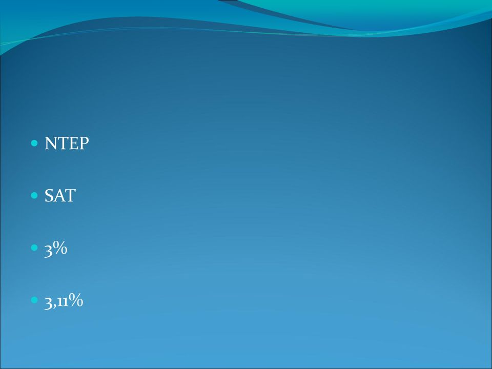 NTEP SAT 3% 3,11%