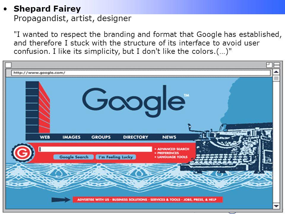 Lafayette B. Melo – CEFET-PB - COINFO Shepard Fairey Propagandist, artist, designer