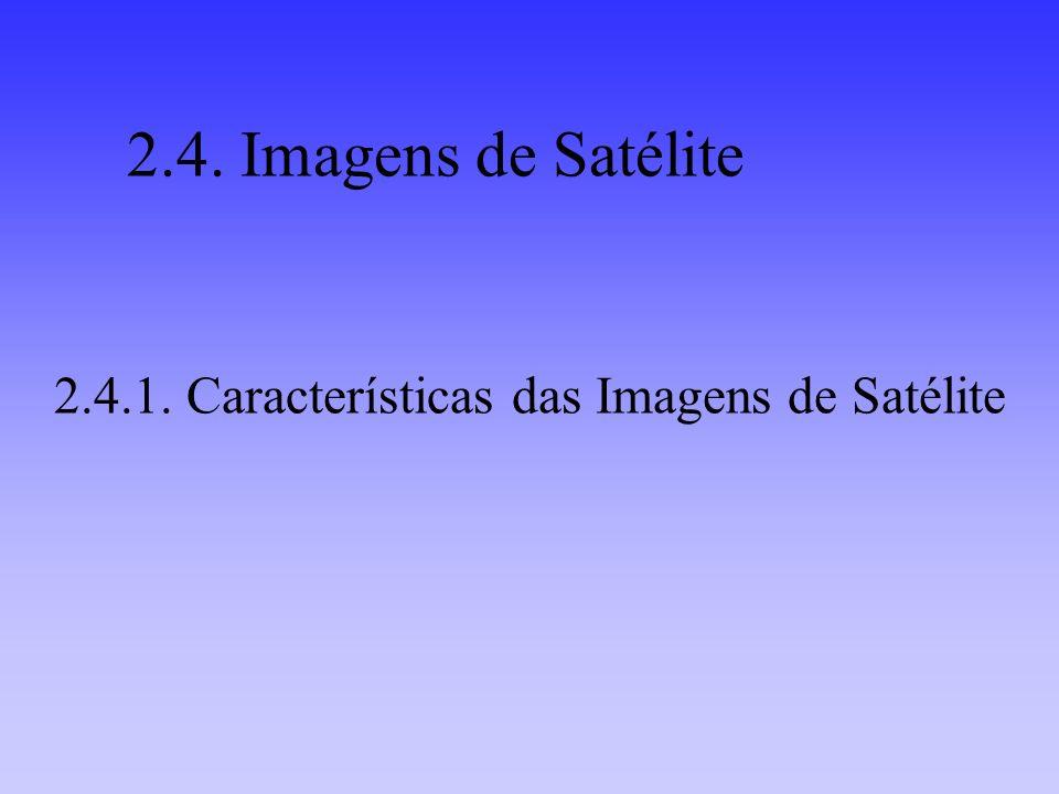 2.4.1. Características das Imagens de Satélite 2.4. Imagens de Satélite