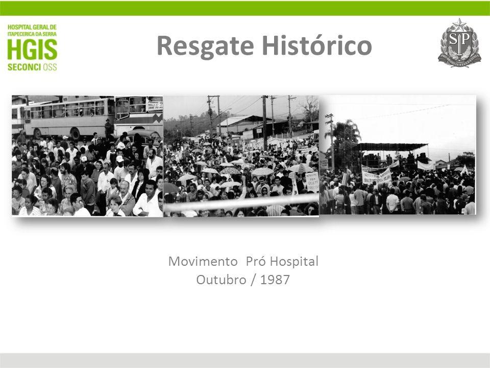 Movimento Pró Hospital Outubro / 1987 Resgate Histórico