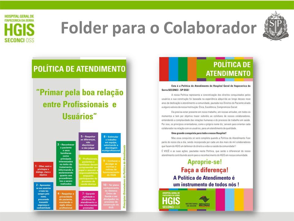 Folder para o Colaborador