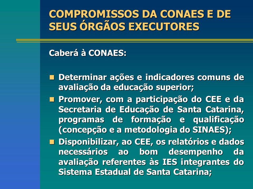 Apoiar e orientar a participação das IES (ENADE); Apoiar e orientar a participação das IES (ENADE); Estimular docentes do Estado a integrar o banco na