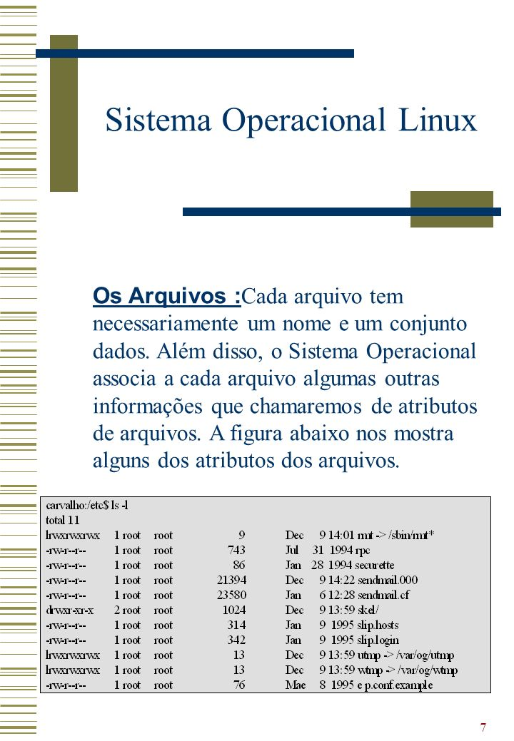 8 Sistema Operacional Linux Eu posso rodar programas do Microsoft Windows no Linux.