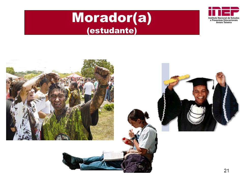 21 Morador(a) (estudante)