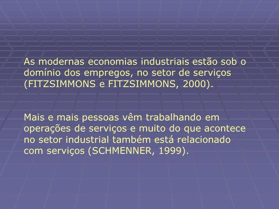 Fonte: The Experience Economy.