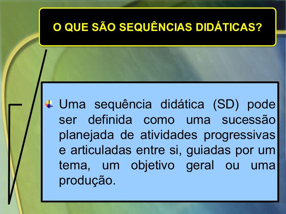 As sequências didáticas são um conjunto de atividades ligadas entre si, planejadas para ensinar um conteúdo, etapa por etapa....