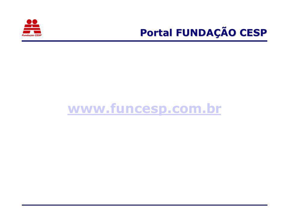 Portal FUNDAÇÃO CESP www.funcesp.com.br