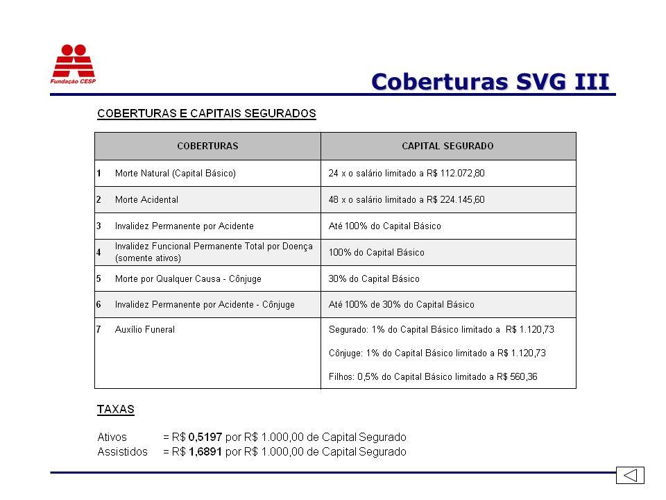 Coberturas SVG III