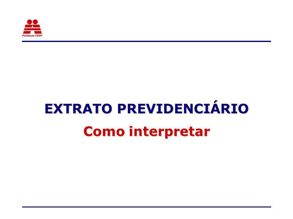 EXTRATO PREVIDENCIÁRIO Como interpretar