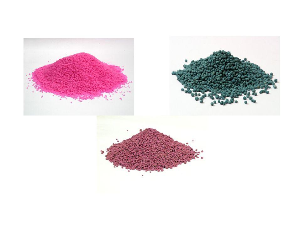 Uréia, MAP e KCI revestidos com polímeros
