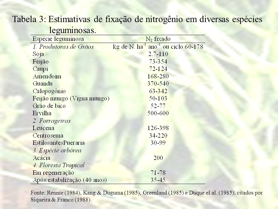 Tabela 6. Influência do parcelamento do N na colheita de café (4 anos de idade).
