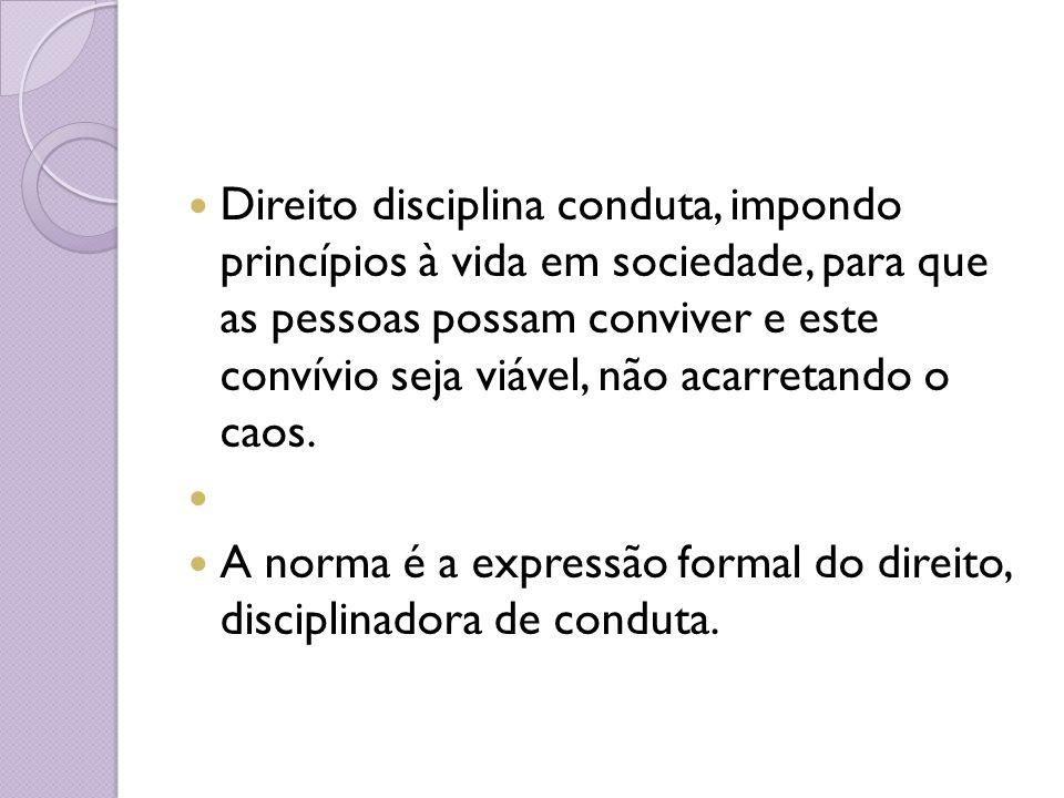 1) direito objetivo: o conjunto de regras destinadas a reger um grupo social, cujo respeito é garantido pelo Estado.