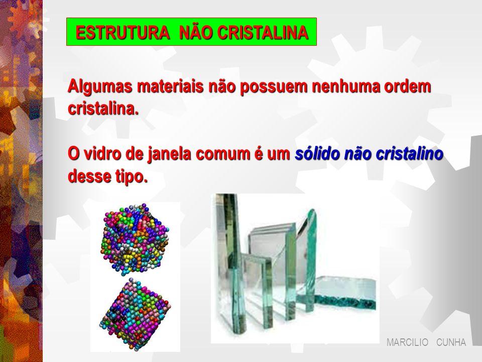 MARCILIO CUNHA ESTRUTURA NÃO CRISTALINA A microscopia é um conjunto de ferramentas poderosas para inspecionar a ordem ou desordem estrutural.