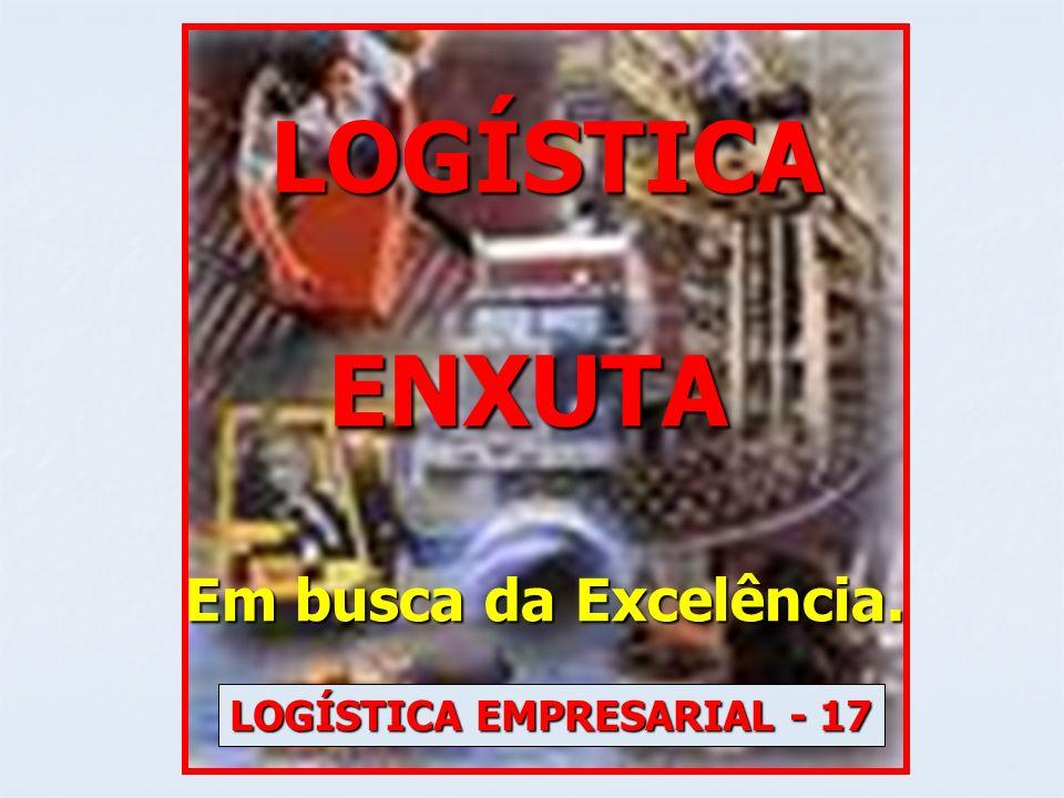 LOGÍSTICA LOGÍSTICA ENXUTA ENXUTA Em busca da Excelência. LOGÍSTICA EMPRESARIAL - 17