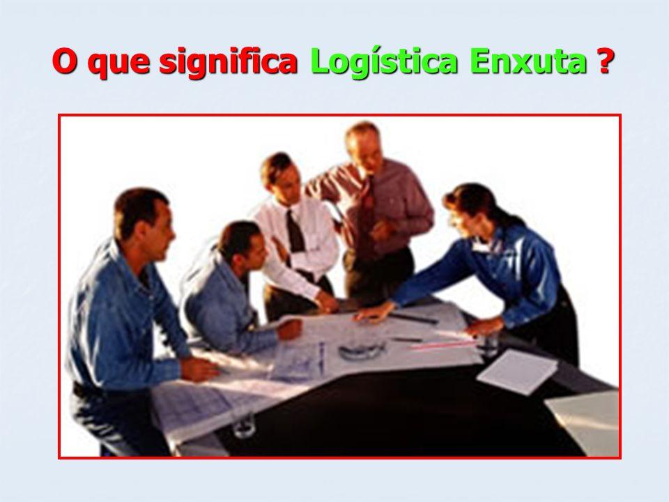 O que significa Logística Enxuta ?