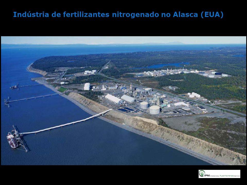 Indústria de fertilizantes nitrogenado no Alasca (EUA)