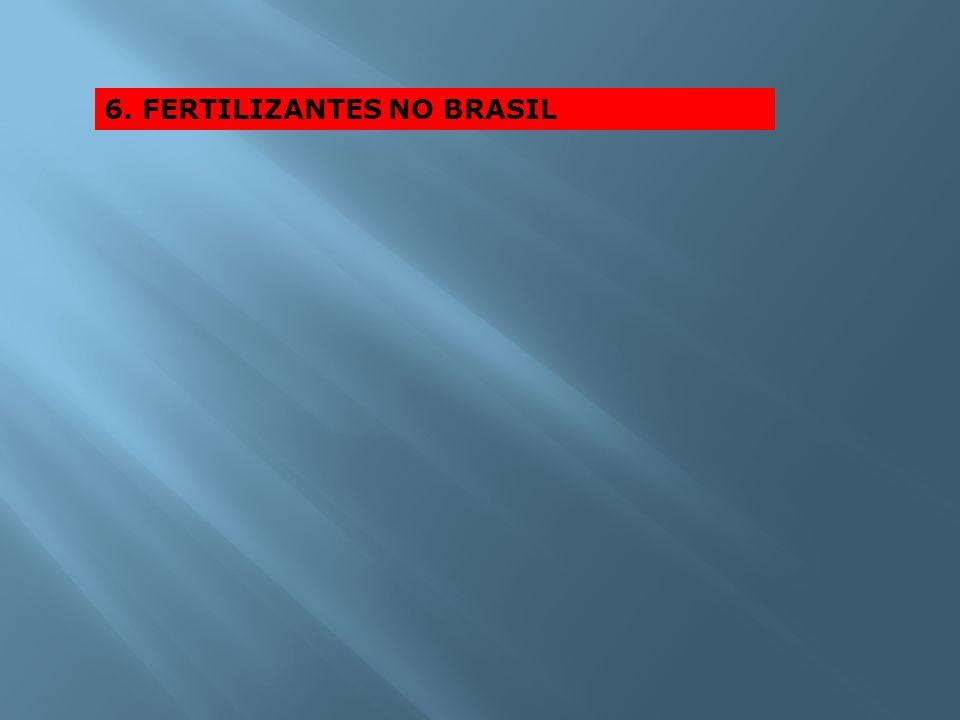 6. FERTILIZANTES NO BRASIL