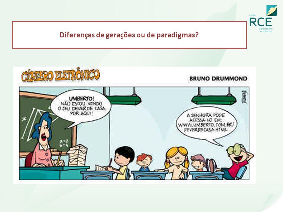 Diferenças de gerações ou de paradigmas?