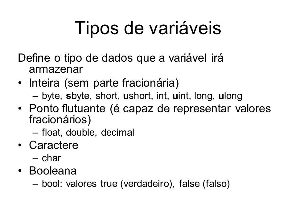 Vetores Para criar um vetor que armazene N elementos de um certo tipo (tipoDoVetor), utiliza-se a seguinte forma: tipoDoVetor[] nomeDoVetor = new tipoDoVetor[N]