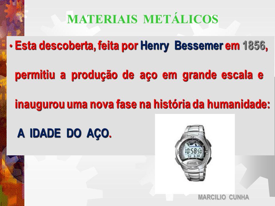 Esta descoberta, feita por Henry Bessemer em 1856, Esta descoberta, feita por Henry Bessemer em 1856, permitiu a produção de aço em grande escala e pe
