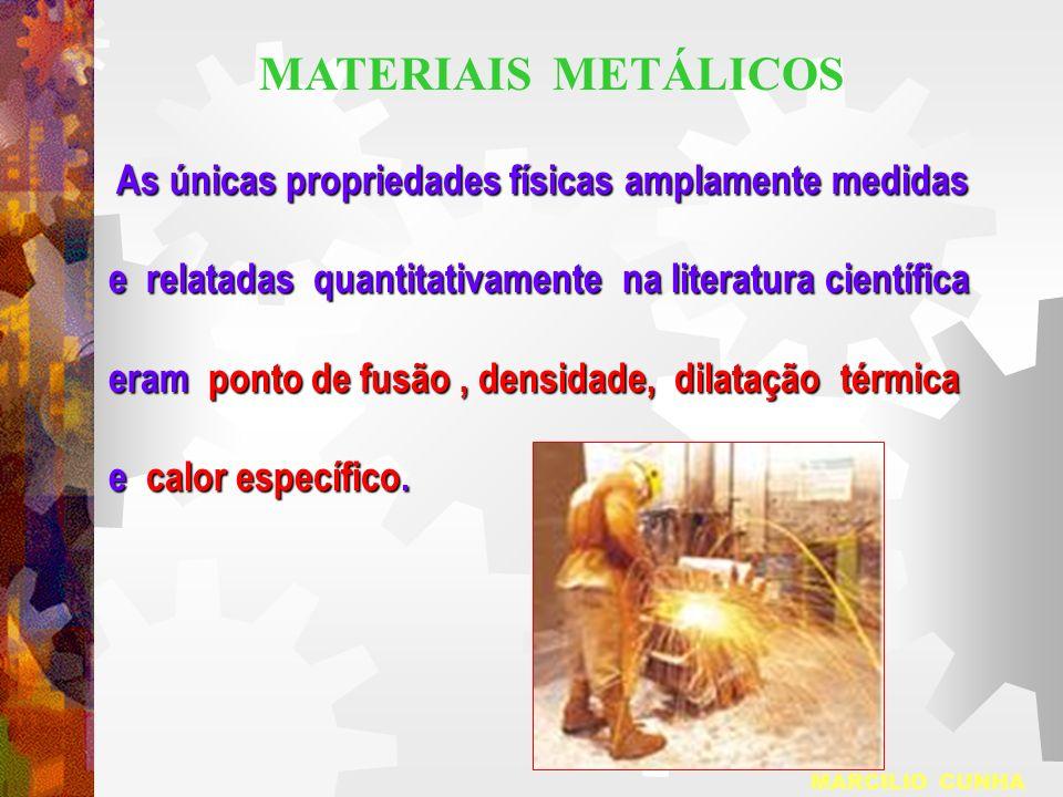 As únicas propriedades físicas amplamente medidas As únicas propriedades físicas amplamente medidas e relatadas quantitativamente na literatura cientí