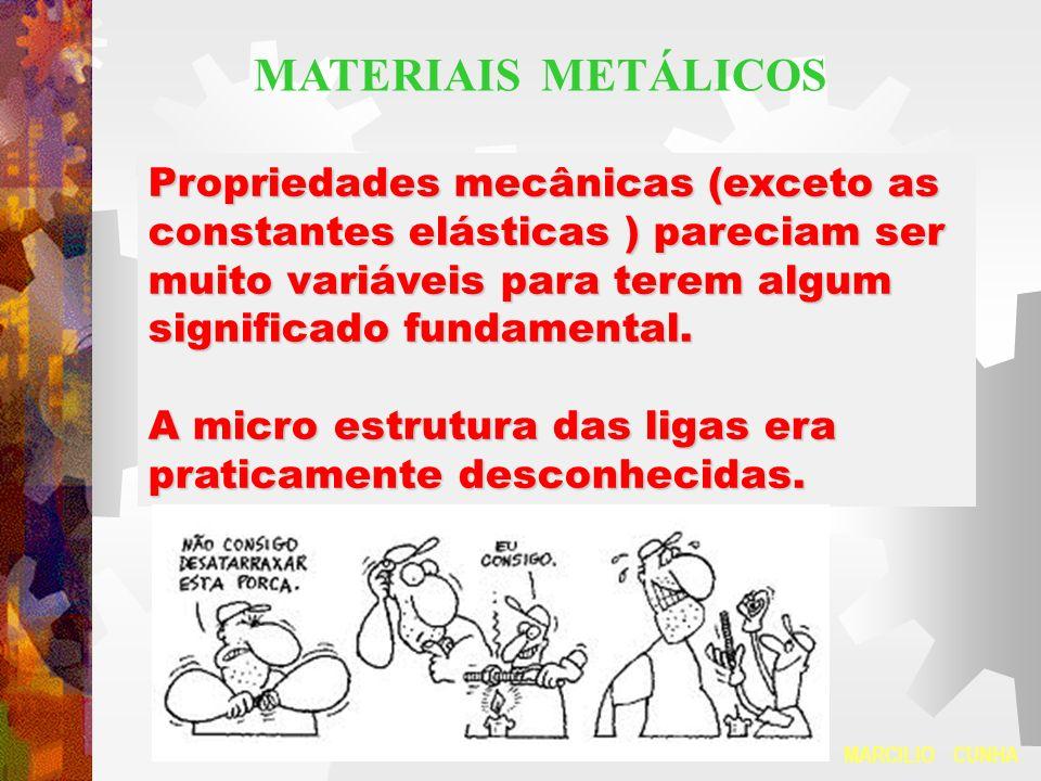 Propriedades mecânicas (exceto as constantes elásticas ) pareciam ser muito variáveis para terem algum significado fundamental. A micro estrutura das
