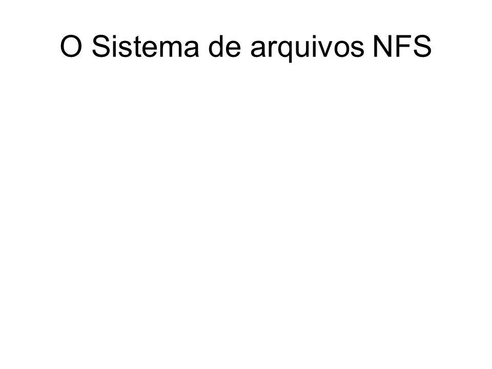 O Sistema de arquivos NFS