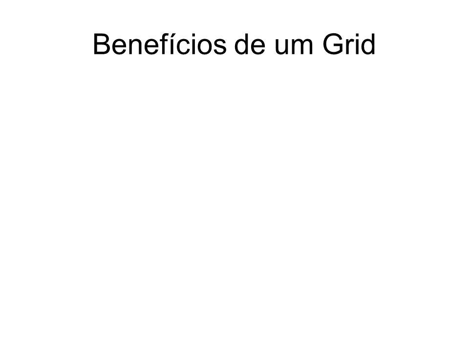 Benefícios de um Grid