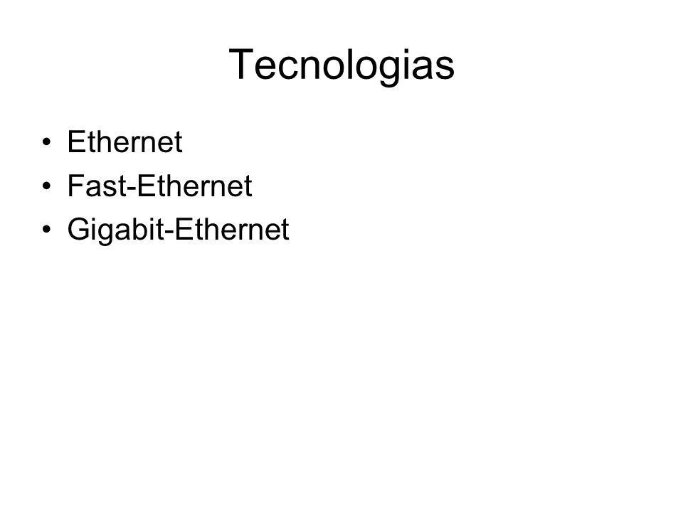 Outras Tecnologias Myrinet QsNet SCI - Scalable Coherent Interface HIPPI - High Performance Parallel Interface