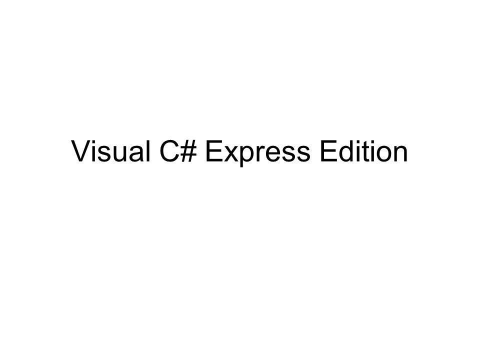 12 Visual C# 2008 Express Edition barra de menus barra de ferramentas