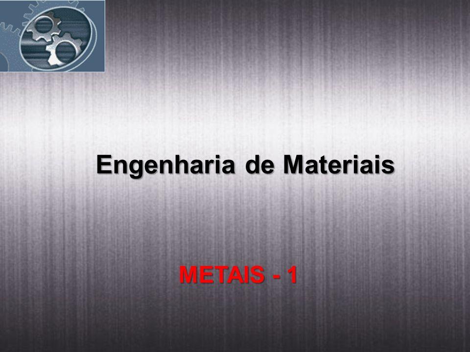 Engenharia de Materiais METAIS - 1