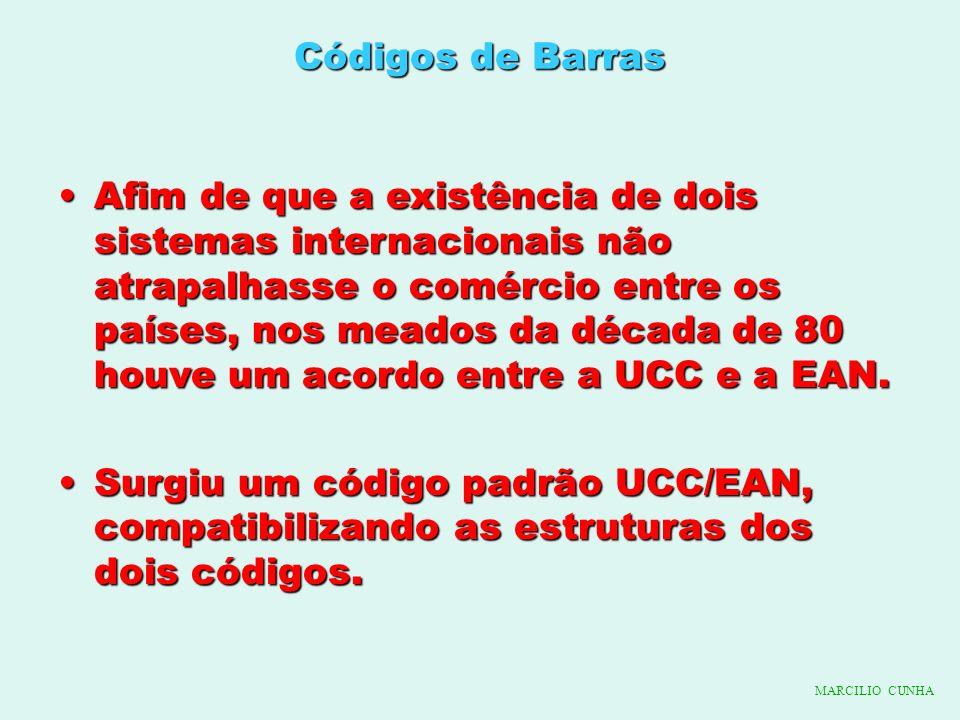 Códigos de Barras Afim de que a existência de dois sistemas internacionais não atrapalhasse o comércio entre os países, nos meados da década de 80 hou