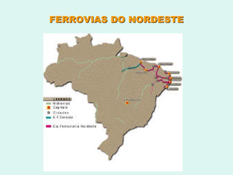 FERROVIAS DO NORDESTE