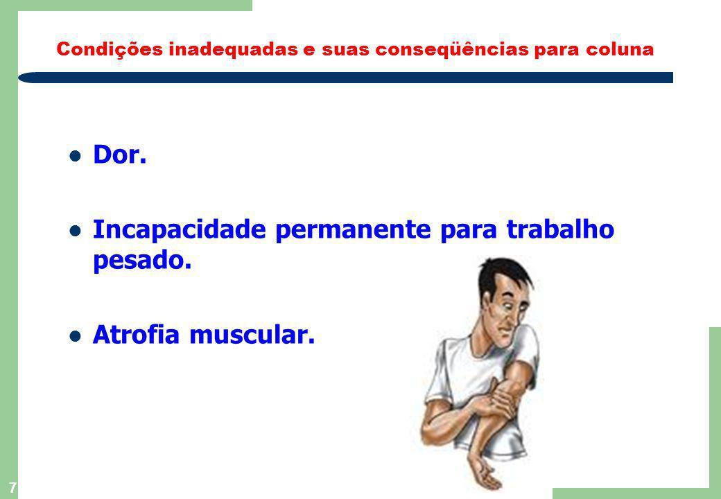 6 ñ Eixo de sustentação. ñ Estrutura de mobilidade entre as partes do corpo. ñ Amortecimento de cargas. ñ Proteção à medula espinhal. Como funciona su