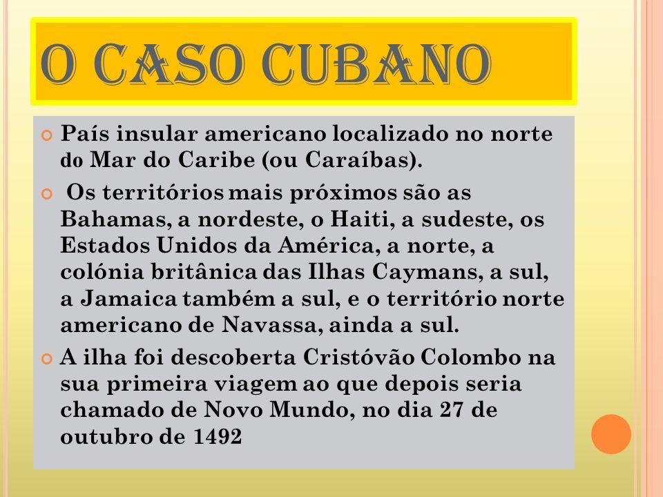 POLÍTICA República socialista, organizada segundo o modelo marxista-leninista (partido único, sem eleições diretas para cargos executivos, ou imprensa livres), da qual Fidel Castro foi o primeiro-secretário do Comitê Central do Partido Comunista de Cuba e o presidente dos Conselhos de Estado e de Ministros (presidente da República).