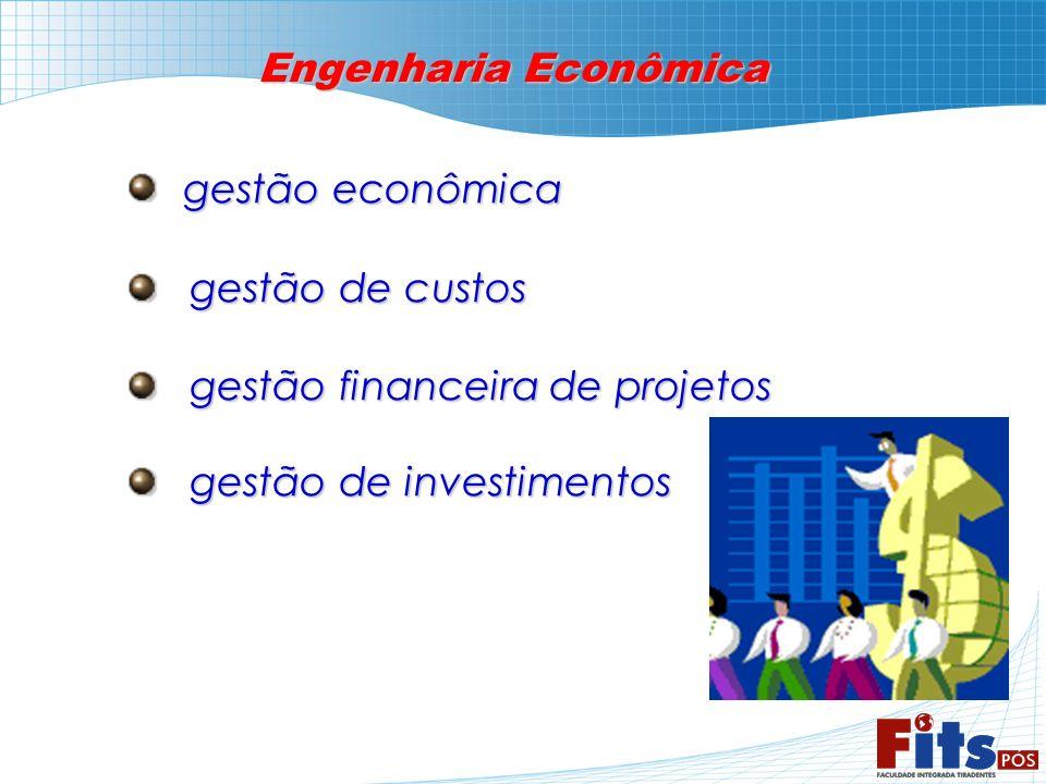 Engenharia Econômica gestão econômica gestão econômica gestão de custos gestão de custos gestão financeira de projetos gestão financeira de projetos g
