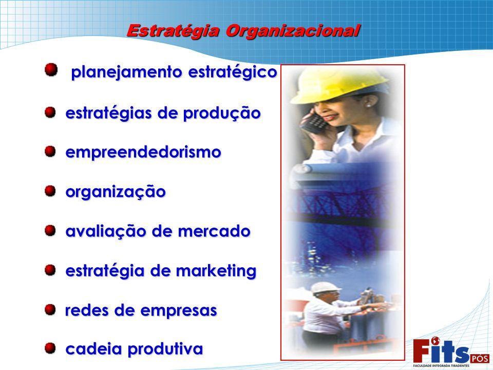 Estratégia Organizacional planejamento estratégico planejamento estratégico estratégias de produção estratégias de produção empreendedorismo empreende