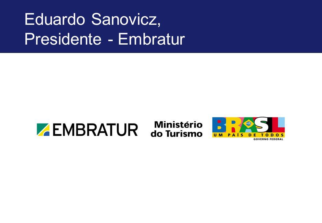 Eduardo Sanovicz, Presidente - Embratur