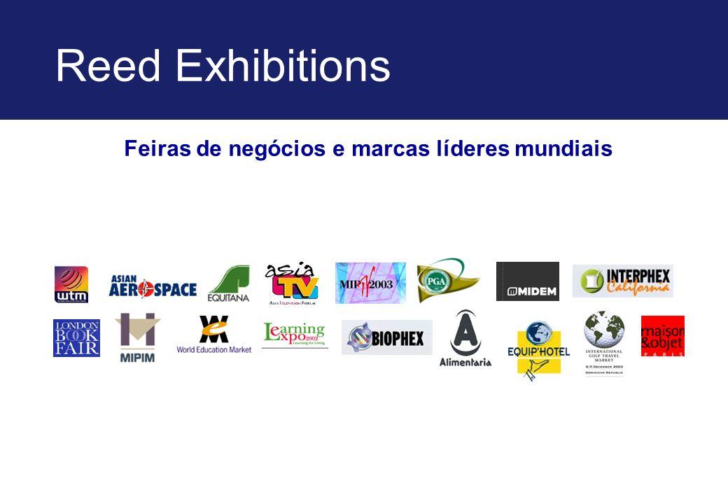 Reed Exhibitions Feiras de negócios e marcas líderes mundiais