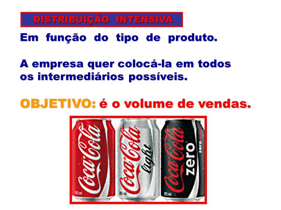Intermediários localizados em áreas pré-determinadas pelo fabricante do produto.