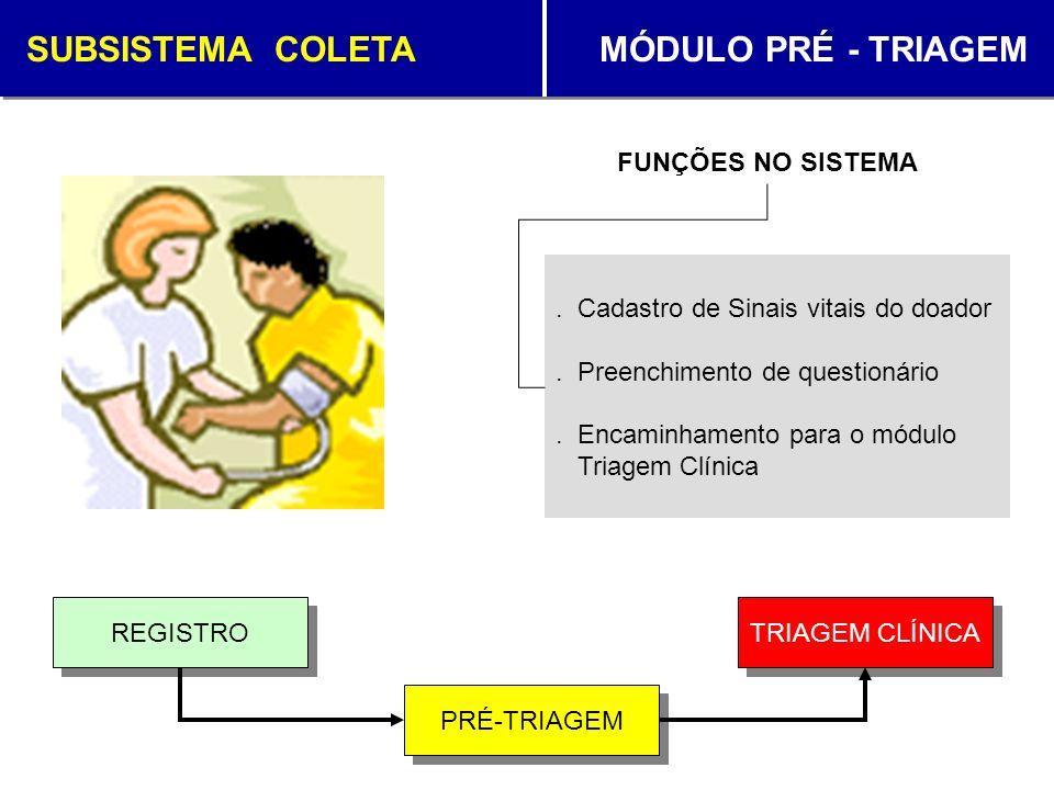 SUBSISTEMA COLETA MÓDULO TRIAGEM CLÍNICA.Solicitação de coleta para 2ª amostra.